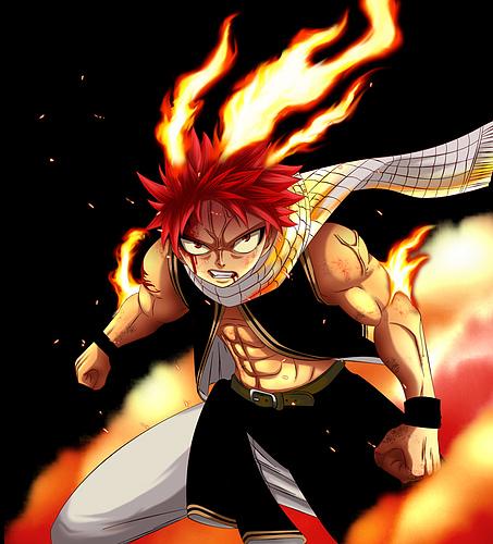 Personajes de anime que sean tu favoritos... Natsu