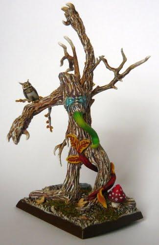 elves - Skavenblight's Wood Elves Drzewo101