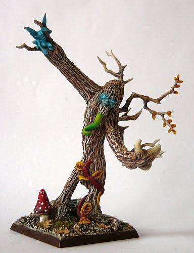 elves - Skavenblight's Wood Elves Drzewo201