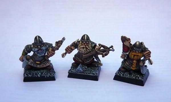 Skavenblight's painting dwarfs... again! D1