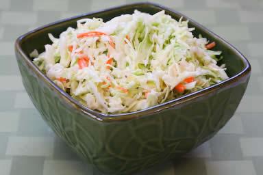 مطعم  Sugar-free-coleslaw-with-agave_kalynskitchen