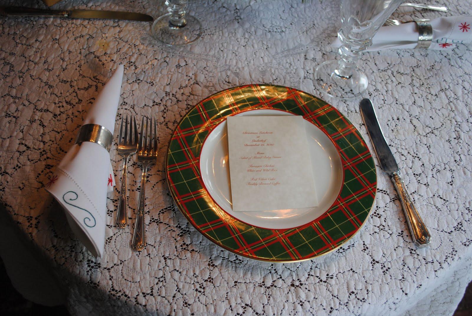 objet en tartan Christmas%2Blunchbunch5