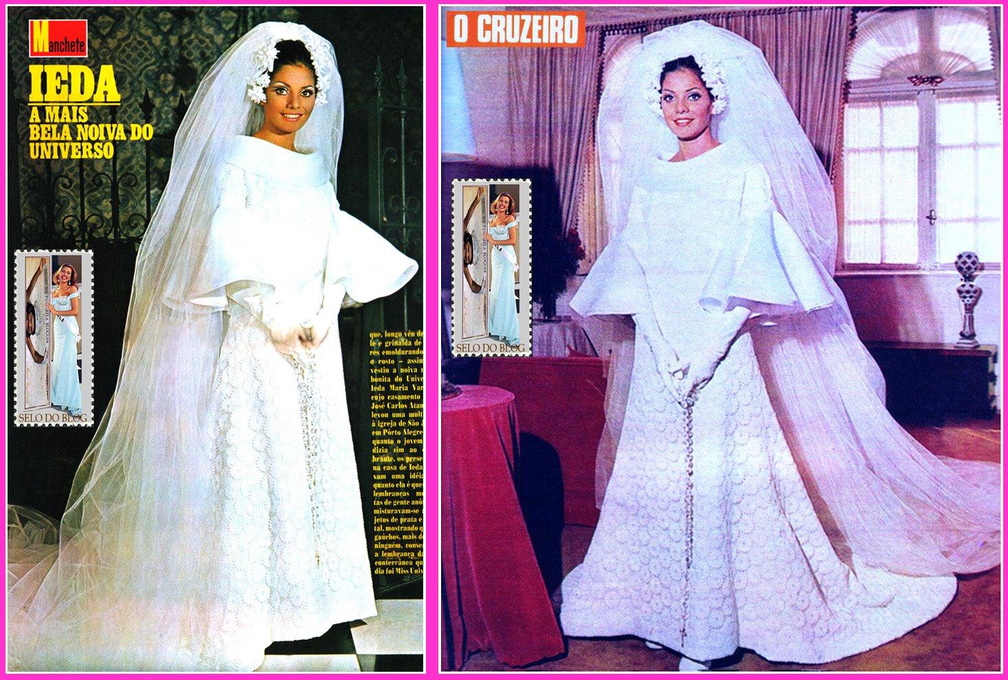 ✾◕‿◕✾ Galeria de Ieda Maria Vargas, Miss Universe 1963.✾◕‿◕✾ - Página 3 Noiva%2BIeda%2BVargas