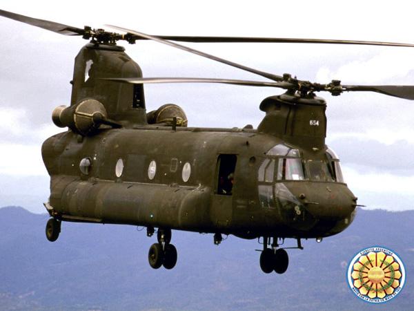 Aeronaves que participaron en la contienda. Ch47-1a