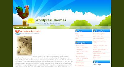 125 excelentes templates para Blogger New-morning