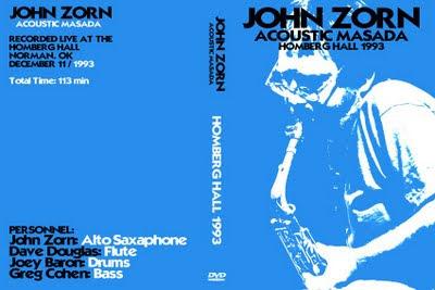 La meilleure formation ? John-zorn-acoustic-masada-1993
