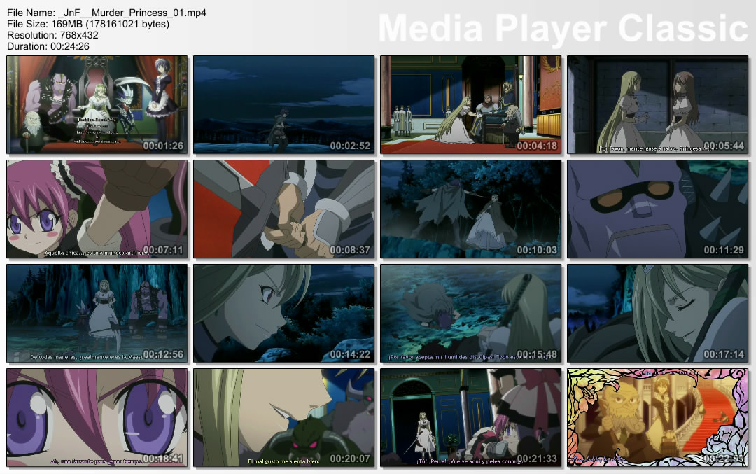 Muerder Princesss Ovas 6/6 50Mb HD Murder