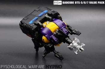 [BadCube] Produit Tiers - Jouet OTS-05 Claymore / OTS-06 Hypno / OTS-07 Kickbutt - aka Insecticons SMl65mHm