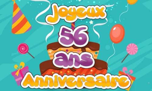 Anniversaire(s) du jour le post - Page 30 Carte-anniversaire-homme-56-ans-fiesta