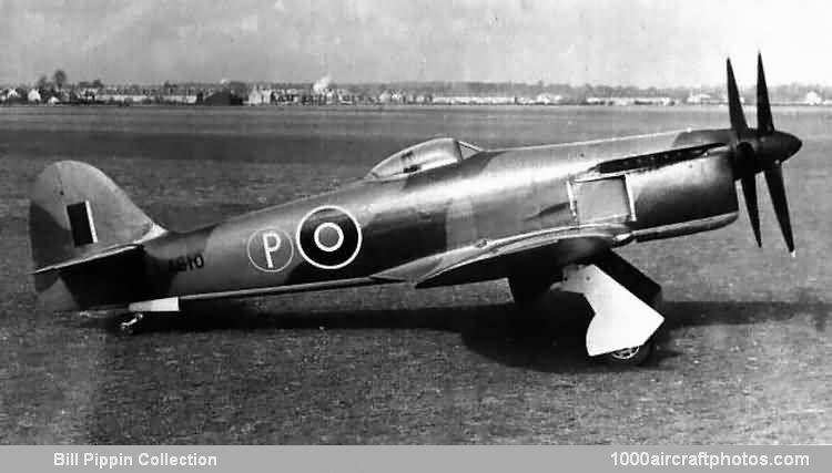LA610, le prototype du Hawker Tempest III ET du Fury ??? 5597L-1