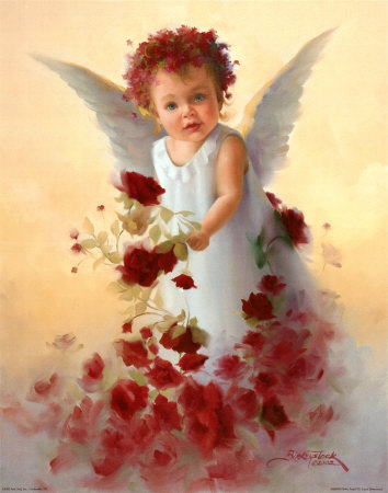 Angel!!!!!!!!!!!!! Baby-angel-with-roses