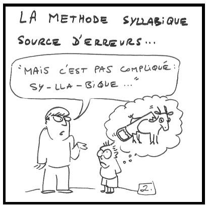 Syllabique, Globale : les meilleures (ou les pires) caricatures Syllabique2
