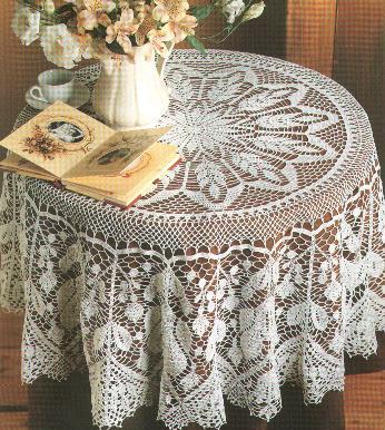 دروس تعلم فنون الكروشية  Crochet-alpilles