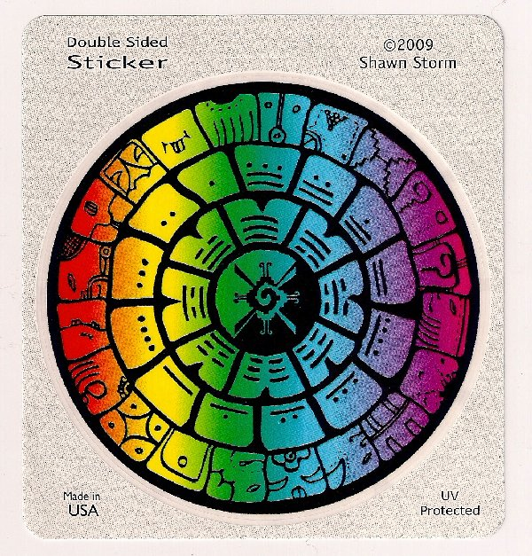 HAPPY GALACTIC MAYAN CALENDAR NEW YEAR!!!  1320STICKERS