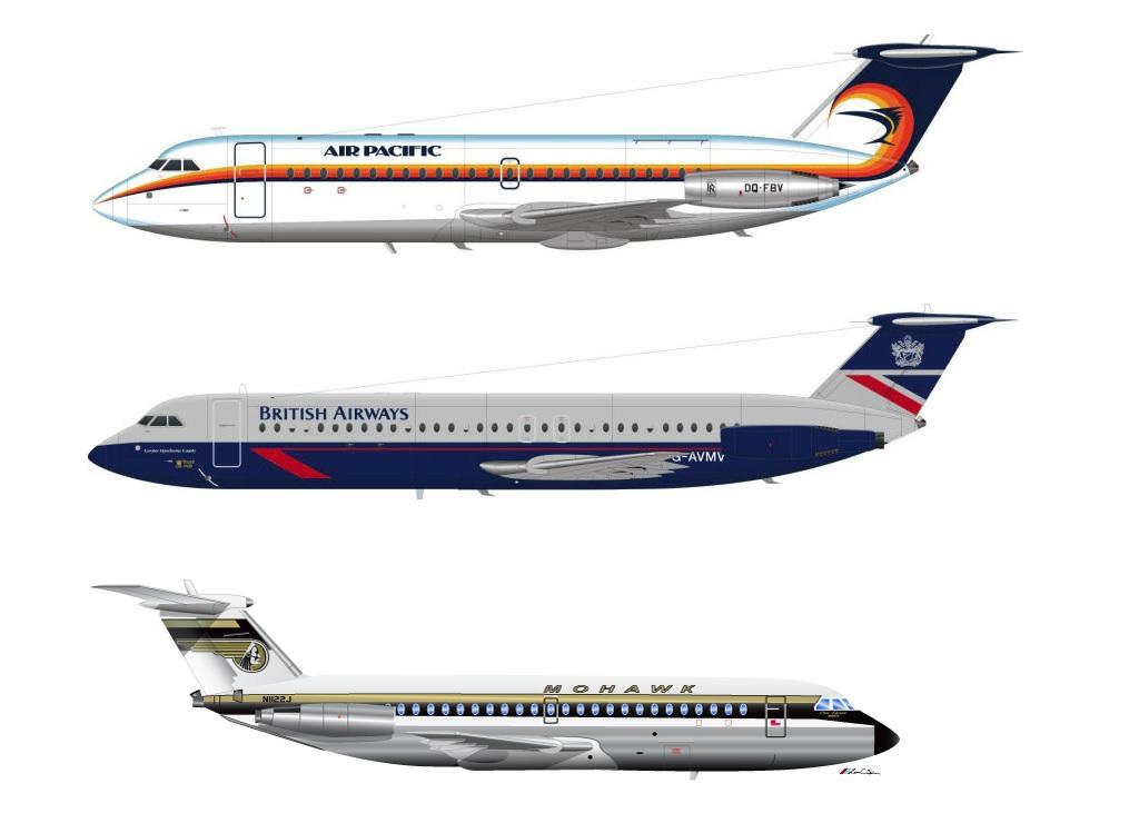 British Aircraft Corporation One-Eleven  00d780527c6fc1007eca37f519b6d6250c9f1c8e