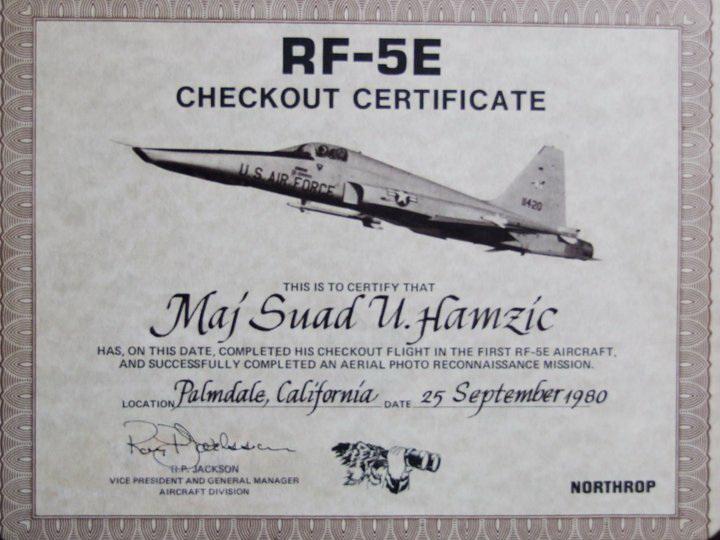 ISPITIVANJE PROTOTIPA AVIONA RF–5E U SAD 1980. GODINE 00d7f85b0c0ee3456dde005be795c68c8727fe03