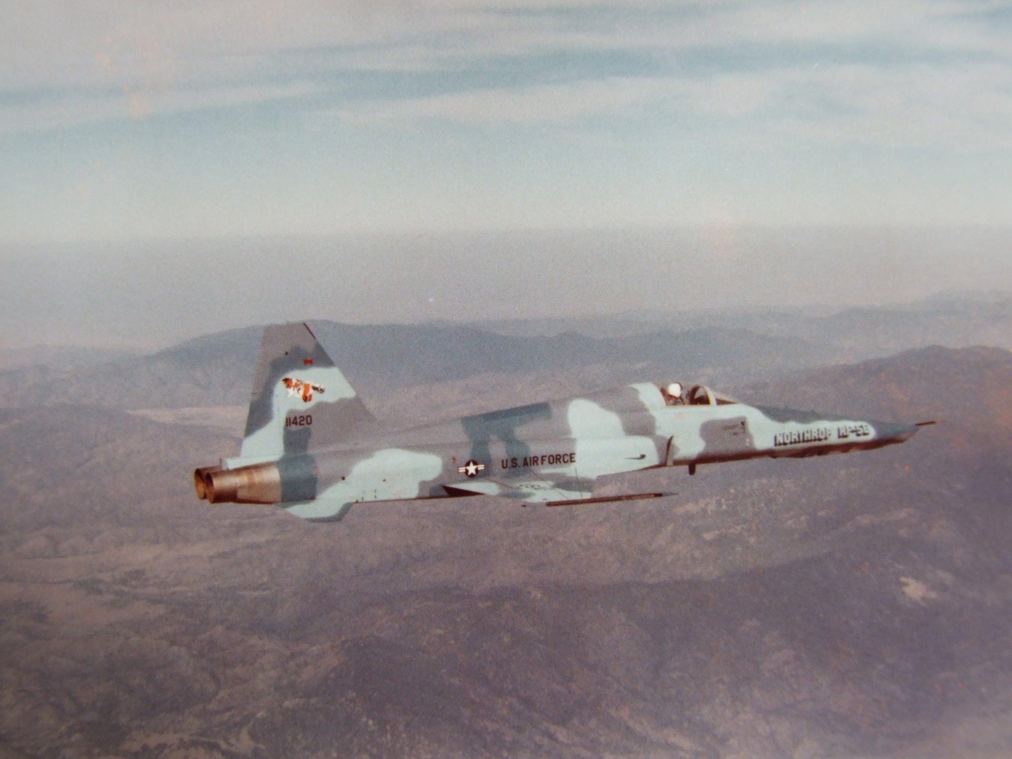 ISPITIVANJE PROTOTIPA AVIONA RF–5E U SAD 1980. GODINE 00d7f8717578eb9cec0cc44eed75778d63ab146c