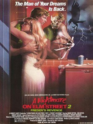 -Los mejores posters/afiches  del cine de terror y Sci-fi- Nightmare_on_elm_street_two