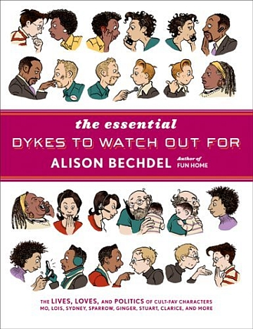 [BD] Alison Bechdel  Essential-dykes-to-watch-out-for-cover