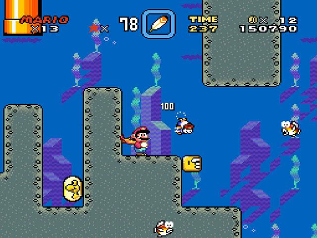MEGADRIVE vs SUPER NINTENDO : Fight ! 35759-Super_Mario_World_(Europe)-10