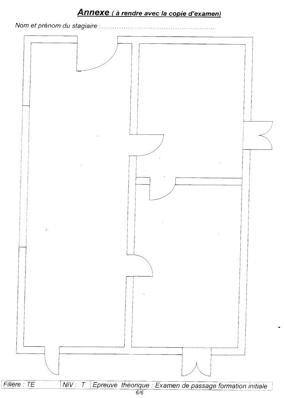Examen de passage Théorique TEMI 2006 6