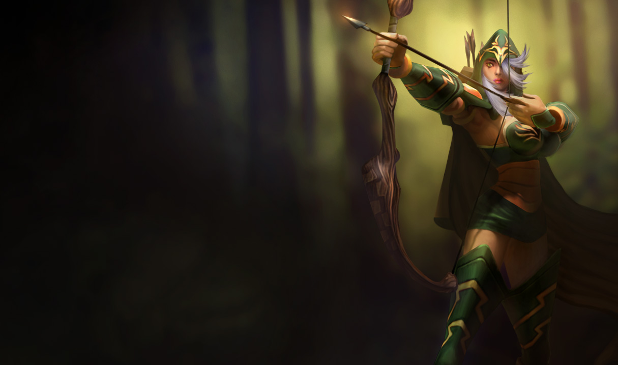 P.O League Of Legends Champs And Skins Sherwood_ashe