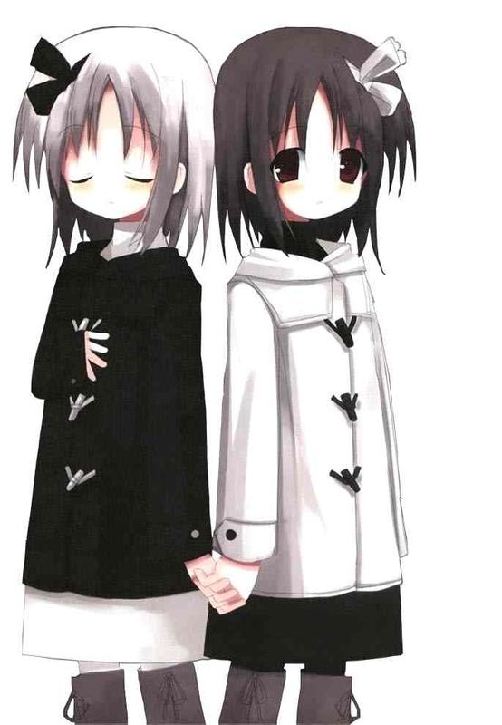 Princesa deseanda - Página 3 Anime-girl-twins-cutie-31000