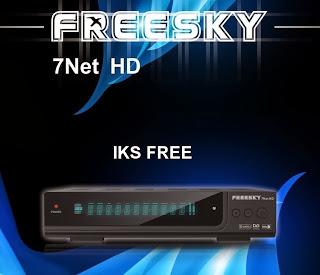 CHEGOU AO MERCADO PARAGUAIO FREESKY 7NET HD. Fq4af