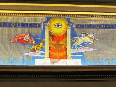 Freemasons' Hall, The United Grand Lodge of England Freemason_all_seeing_eye