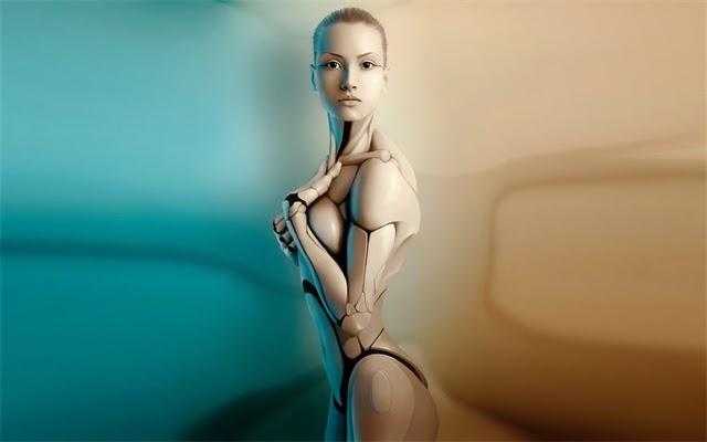 """технологии - Эффект """"зловещей долины"""" Robot-Android"""