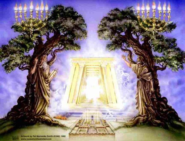 Les Tribus Associées à un des Deux Royaumes Revelation_11_Two_Candlesticks