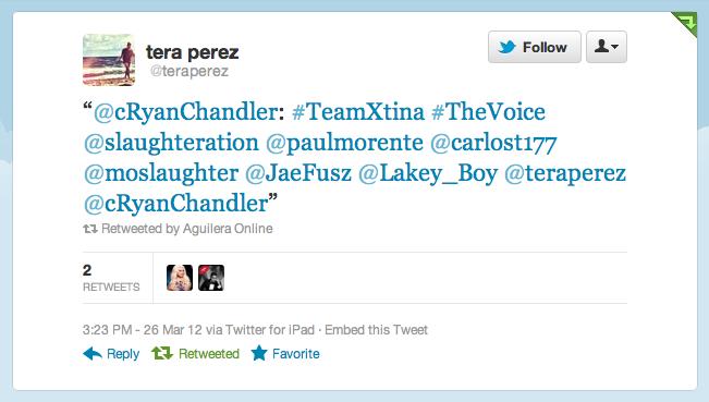 [The Voice II] Coreografos de Christina Aguilera estan trabajando con el #TeamXtina Picture%2B3