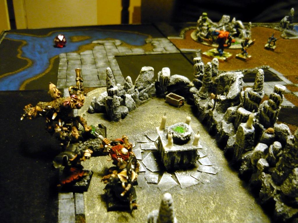 Testing Karak Zorn - first battle in the dungeons P1050521