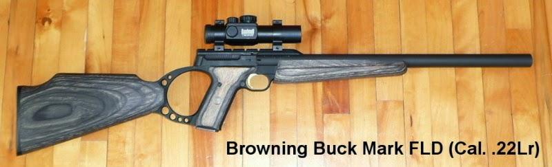 Armes à air et carabines .22lr de Picanox Browning-FLD