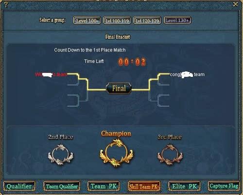 شرح كويست Skill Team PK في لعبة كونكر اونلاين  Skillpk03
