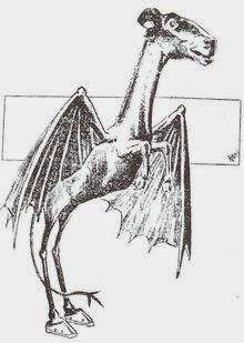 El Demonio de Jersey. 220px-Jersey_Devil_Philadelphia_Post_1909