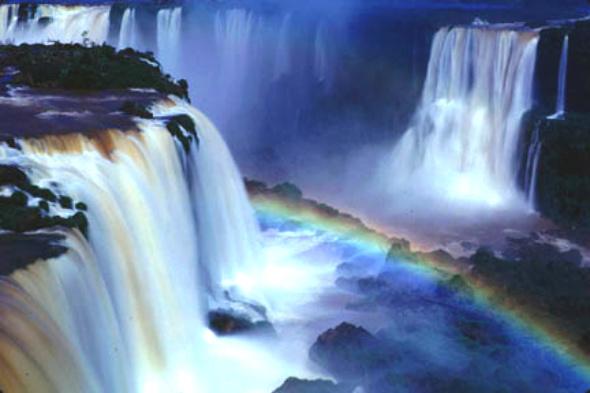 உலகின் அழகிய இயற்கை பிரதேசங்கள்! Iguazu-Falls