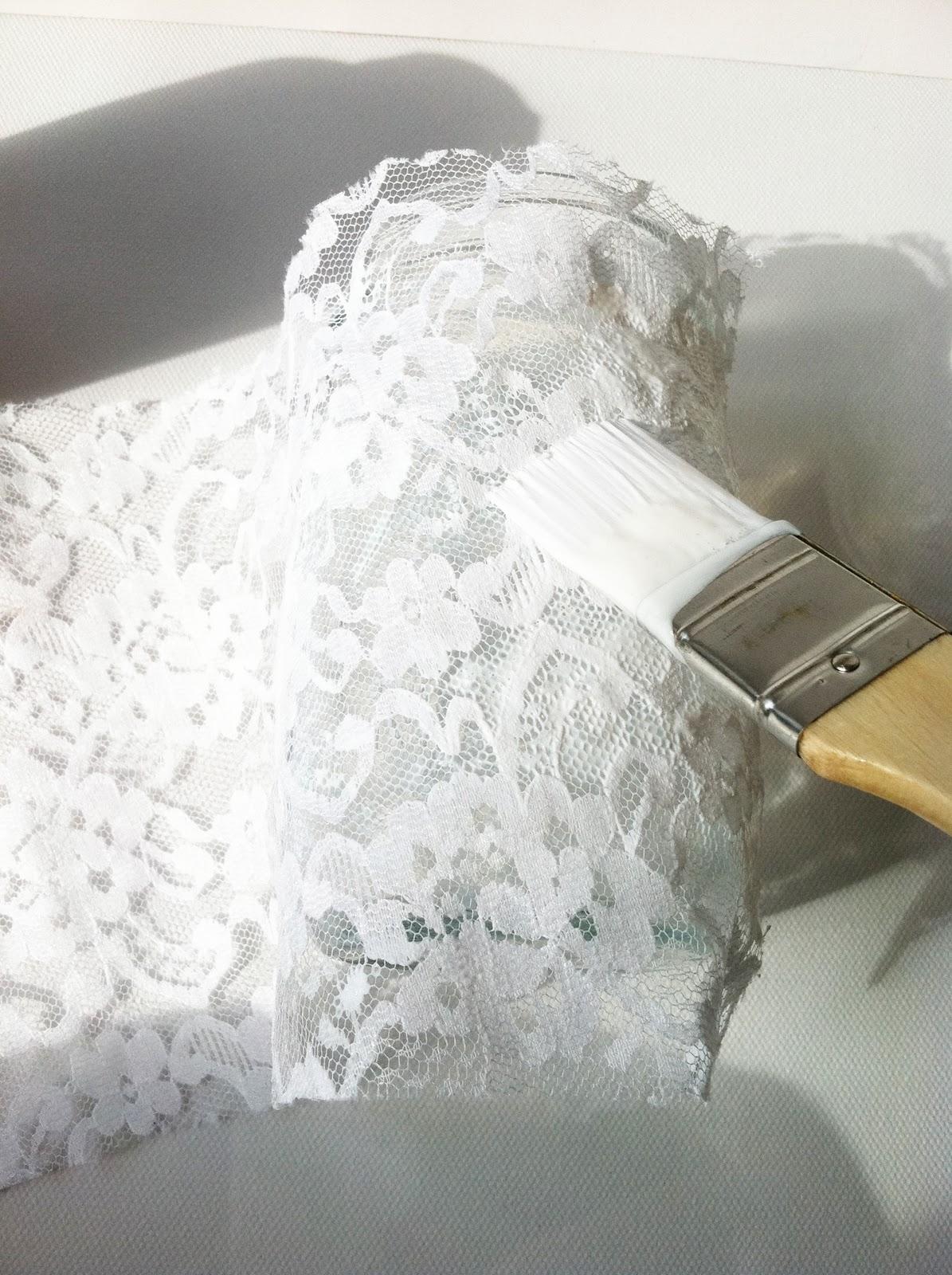 Project DIY: Lace Mason Jars  IMG_6136