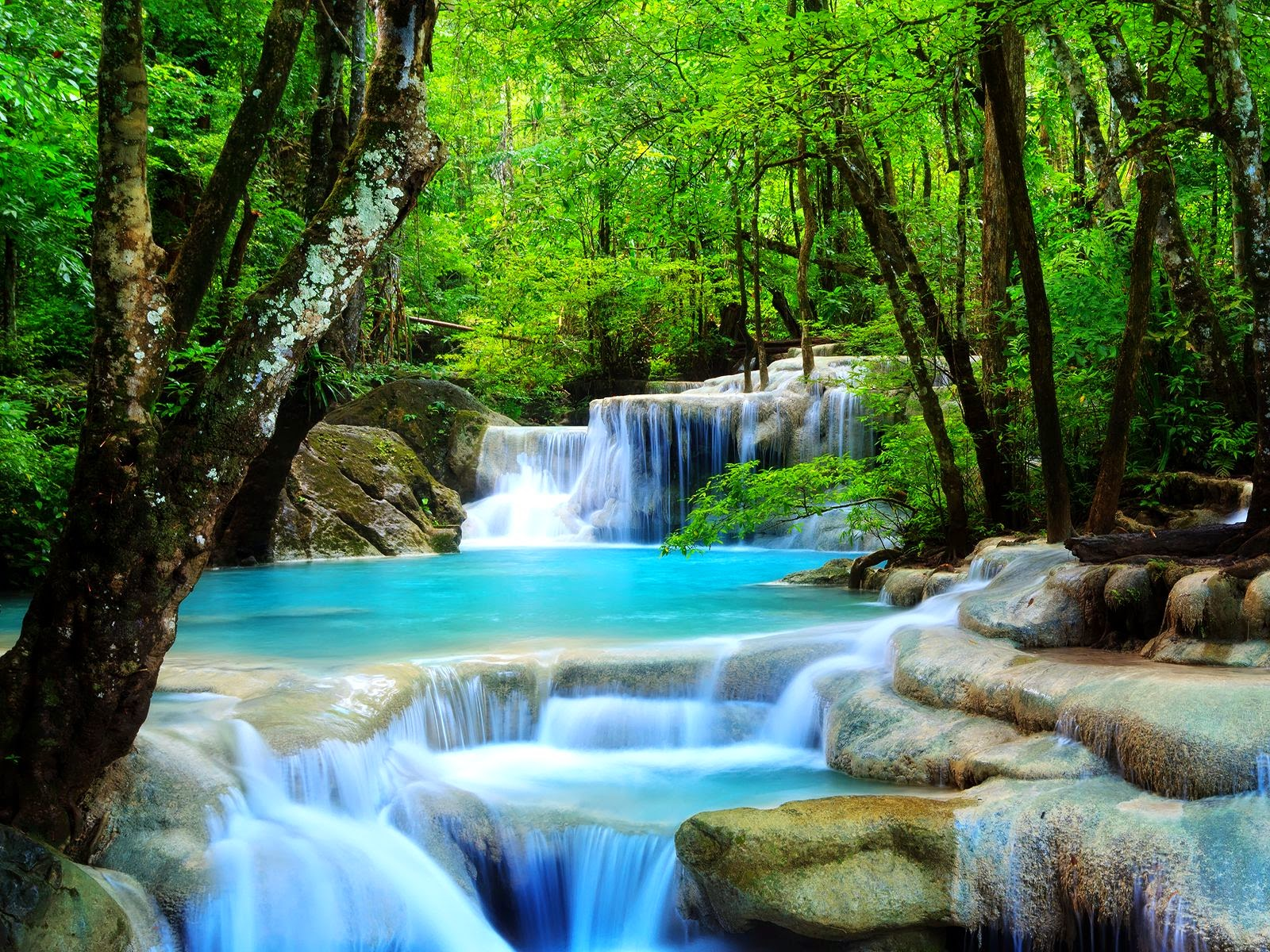 The Natural Physics of Water Prove Earth Flat Beautiful-Waterfall