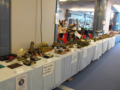 Maquettexpo : La table de Kitmaquettes DSCF2219