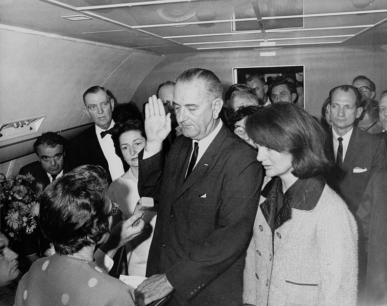 The United States of the Solar System: A.D. 2133 (Book Two) - Page 6 LBJ-1