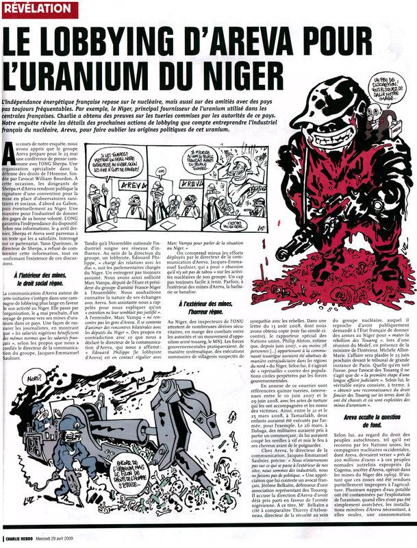 L'uranium nigérien : Au croisement des affrontements stratégiques NIGER3