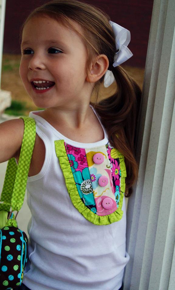 حصريا - ورشه الاعمال اليدويه لوصفات كليوباترا -  جددي ملابس طفلتك - صفحة 3 Tank4