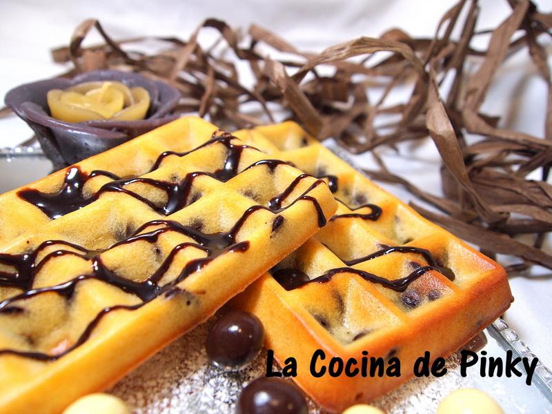 GOFRES AL HORNO CON CHIPS DE CHOCOLATE  Gofres%2Bal%2Bhorno%2Bcon%2Bchips%2Bde%2Bchocolate%2B2
