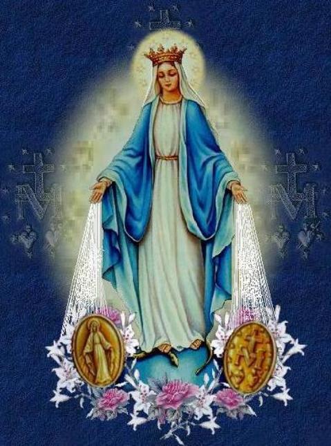 LUB CIM DAWS TXHAUM ( Sacrement de Réconciliation ) - Page 2 Virgin-Mary-Miraculous-Medal