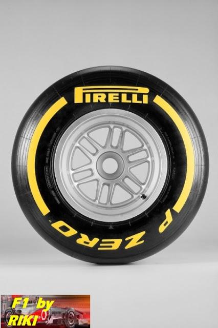"Compuesto de neumaticos PIRELLI  F1 "" F1 By Riki "" 215584"