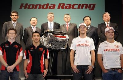 ¿QUE ES UN EQUIPO DE F1? Honda-racing