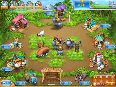 تحميل أفضل 10 ألعاب خفيفة و ممتعة للكمبيوتر  Farm-frenzy