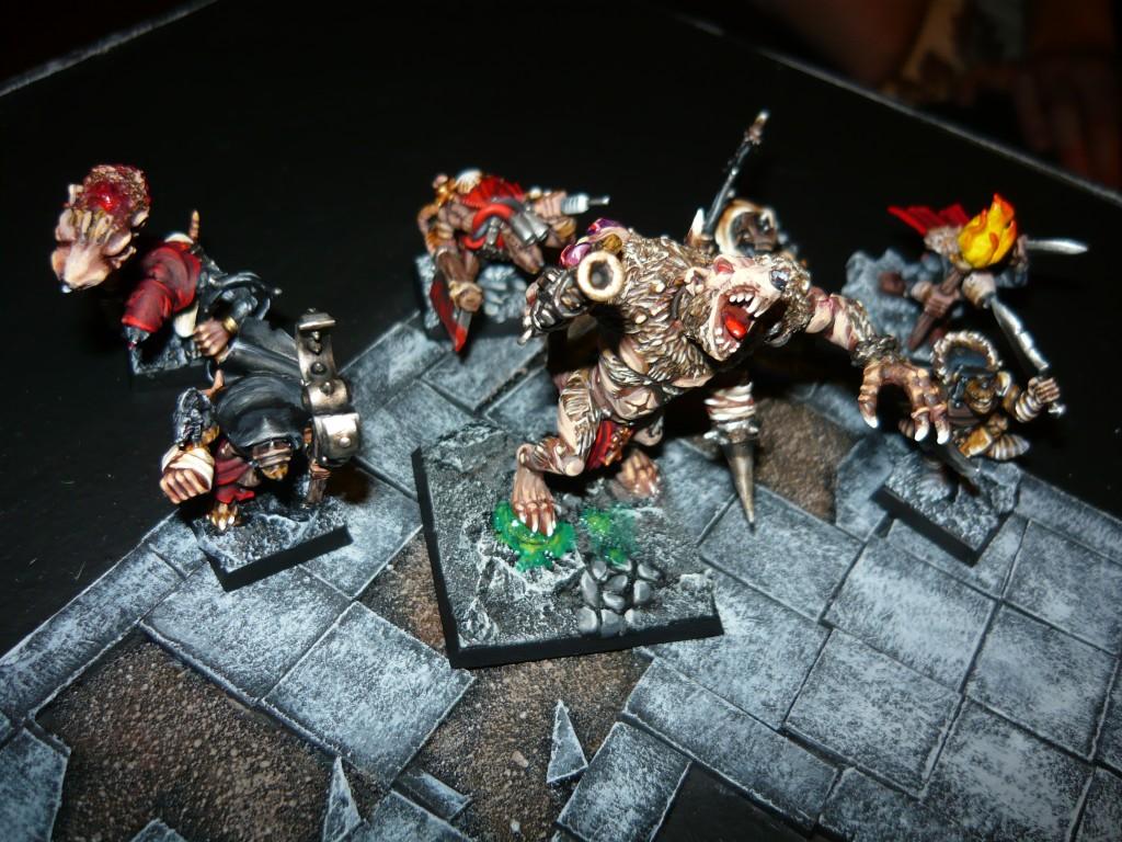 Testing Karak Zorn - first battle in the dungeons P1050482