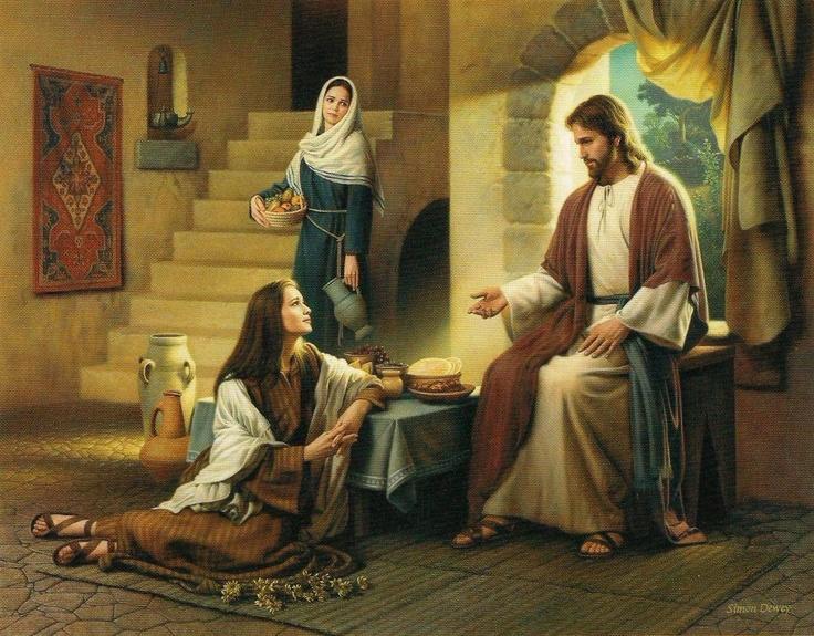 Jésus avait de vrais amis lorsqu'Il vivait sur cette Terre... Maryatchristsfeet